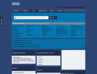 idols.startkabel.nl screenshot