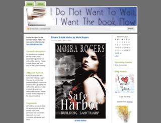 idonotwanttowaitiwantthebooknow.wordpress.com screenshot