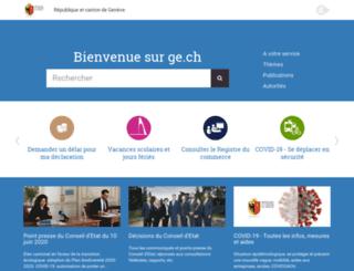 idp.ge.ch screenshot