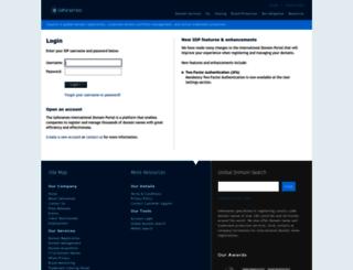 idp.safenames.com screenshot