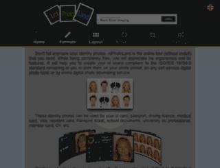 idphotoland.com screenshot