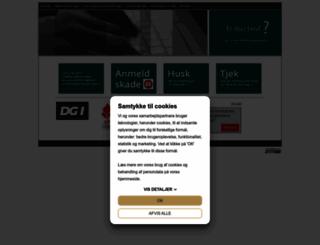 idraettensforsikringer.dk screenshot