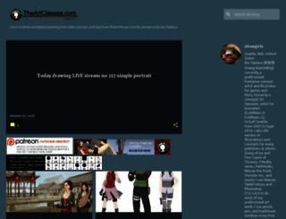 idrawgirls.blogspot.com screenshot