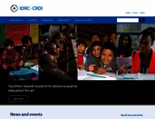 idrc.ca screenshot