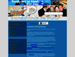idrink.com screenshot