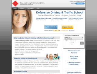 idrivesafelytest.com screenshot