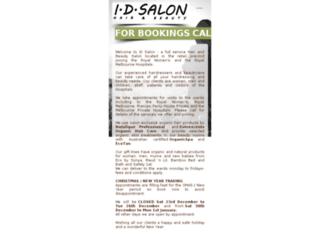idsalon.com.au screenshot