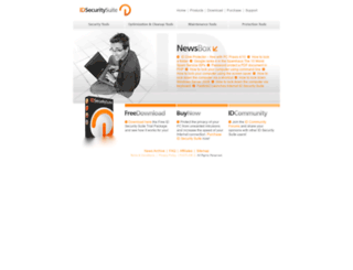 idsecuritysuite.com screenshot