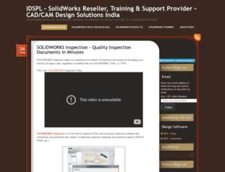 idsplsolidworksreseller.wordpress.com screenshot