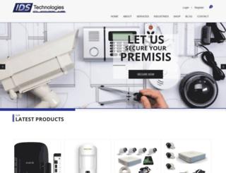 idstechnologies.co.za screenshot