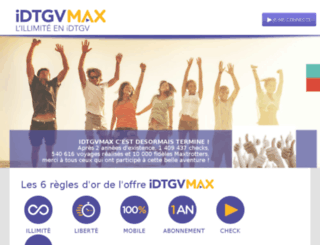 idtgvmax.com screenshot