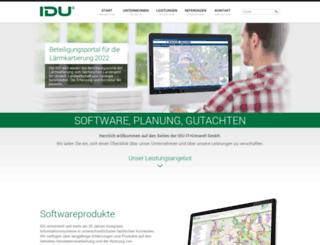 idu.de screenshot