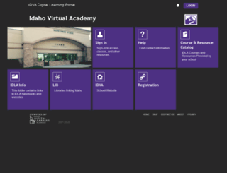 idva.idiglearning.net screenshot