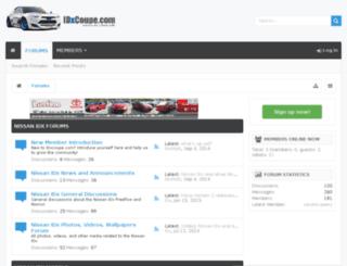idxcoupe.com screenshot