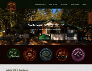 idyllwildinn.com screenshot