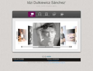 idzi.mx screenshot