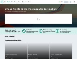 ie.skypicker.com screenshot