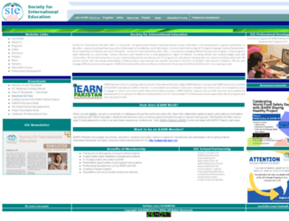 iearnpk.org screenshot