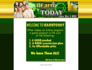 iearntoday.com screenshot