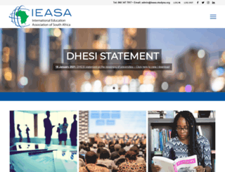 ieasa.studysa.org screenshot