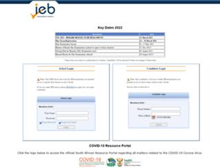 ieb-online.co.za screenshot