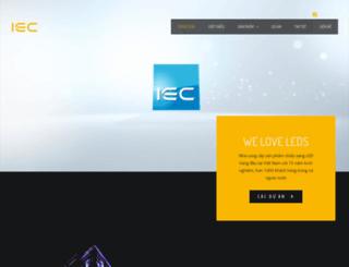 iec.com.vn screenshot