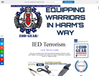 ied-terrorism.com screenshot