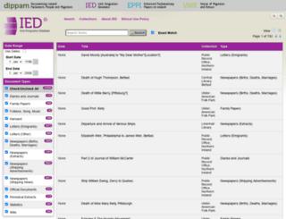 ied.dippam.ac.uk screenshot