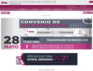 ieec.org.mx screenshot