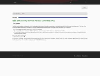 ieee.emc-center.org screenshot