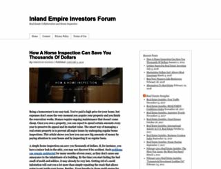 ieinvestorsforum.com screenshot