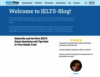 ielts-blog.com screenshot