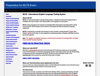 ielts-exam.net screenshot