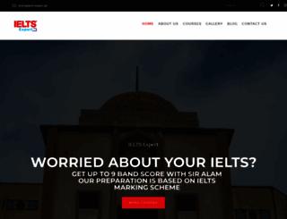 ielts-expert.pk screenshot