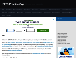 ielts-practice.org screenshot