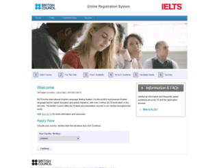 ielts.britishcouncil.org screenshot