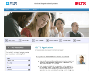 ieltsapplication.britishcouncil.org.tr screenshot