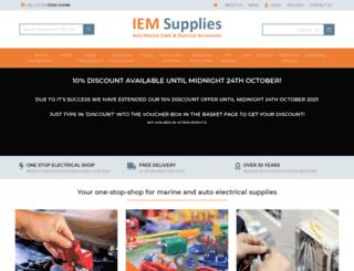 iem-services.co.uk screenshot