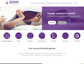 iemas.co.za screenshot