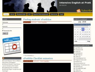 iep.pratt.edu screenshot