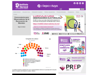 iepcjalisco.org.mx screenshot