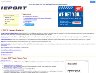 ieport.com screenshot