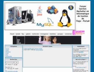 iepscolbachinfo.activebb.net screenshot