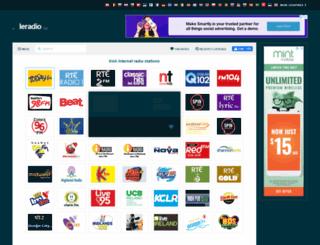 ieradio.org screenshot