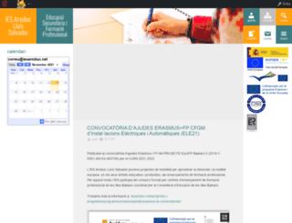 iesarxiduc.net screenshot
