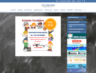 iesdelicias.com screenshot