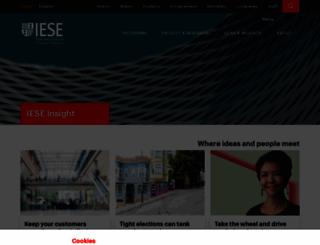ieseinsight.com screenshot