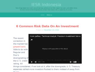 iesr-indonesia.org screenshot