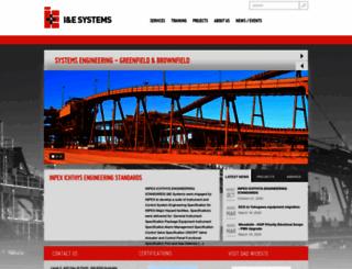 iesystems.com.au screenshot