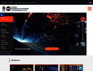 iet.agh.edu.pl screenshot